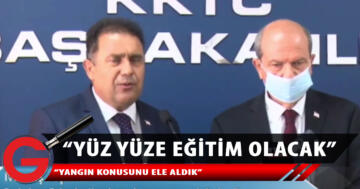 Tatar ve Saner, toplantı sonrası açıklama yaptı