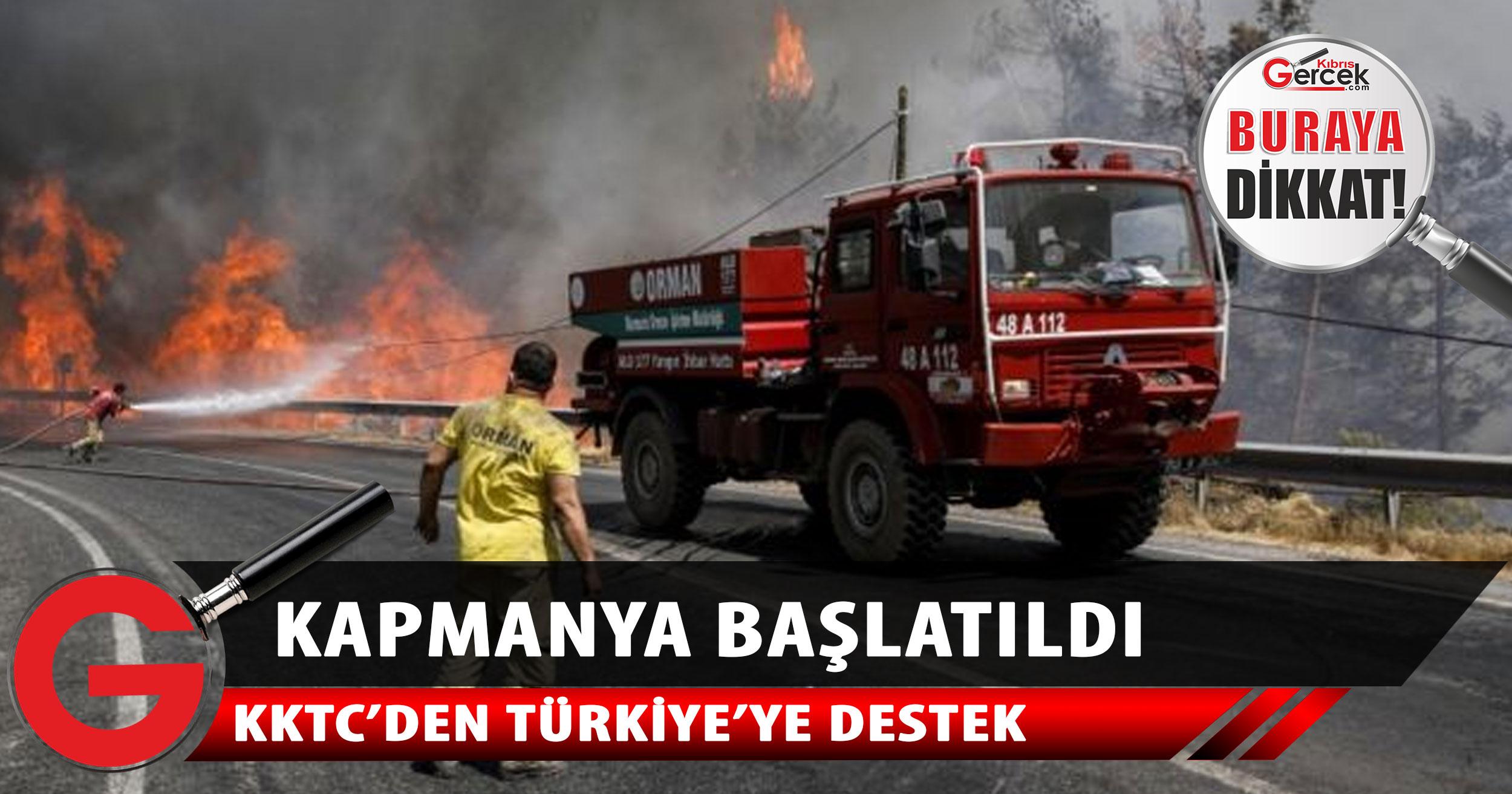 Türkiye'ye destek kampanyası