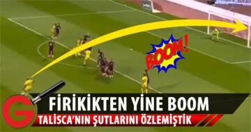 Anderson Talisca'dan enfes frikik golü