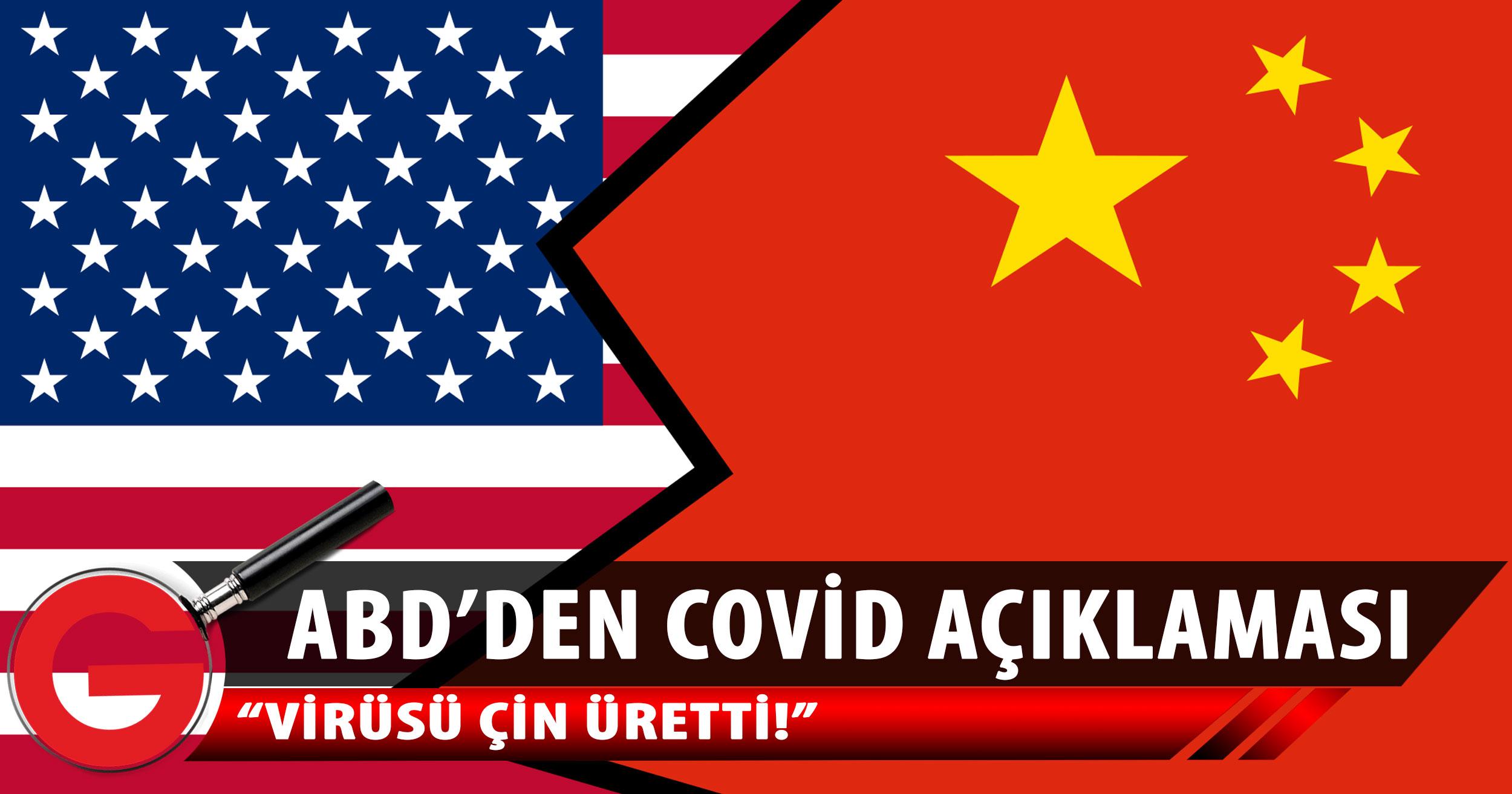 ABD'li Cumhuriyetçiler: Koronavirüs, Çin'deki laboratuvarda üretildi
