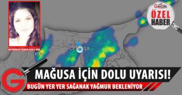 Diko, vatandaşlara yağmur ve dolu uyarısı yaptı