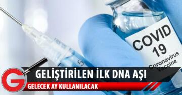 Covid-19'a karşı dünyanın ilk DNA aşısı geliştirildi