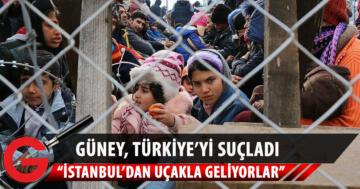 """Güney Kıbrıs'tan Türkiye'ye """"sığınmacılar"""" suçlaması"""
