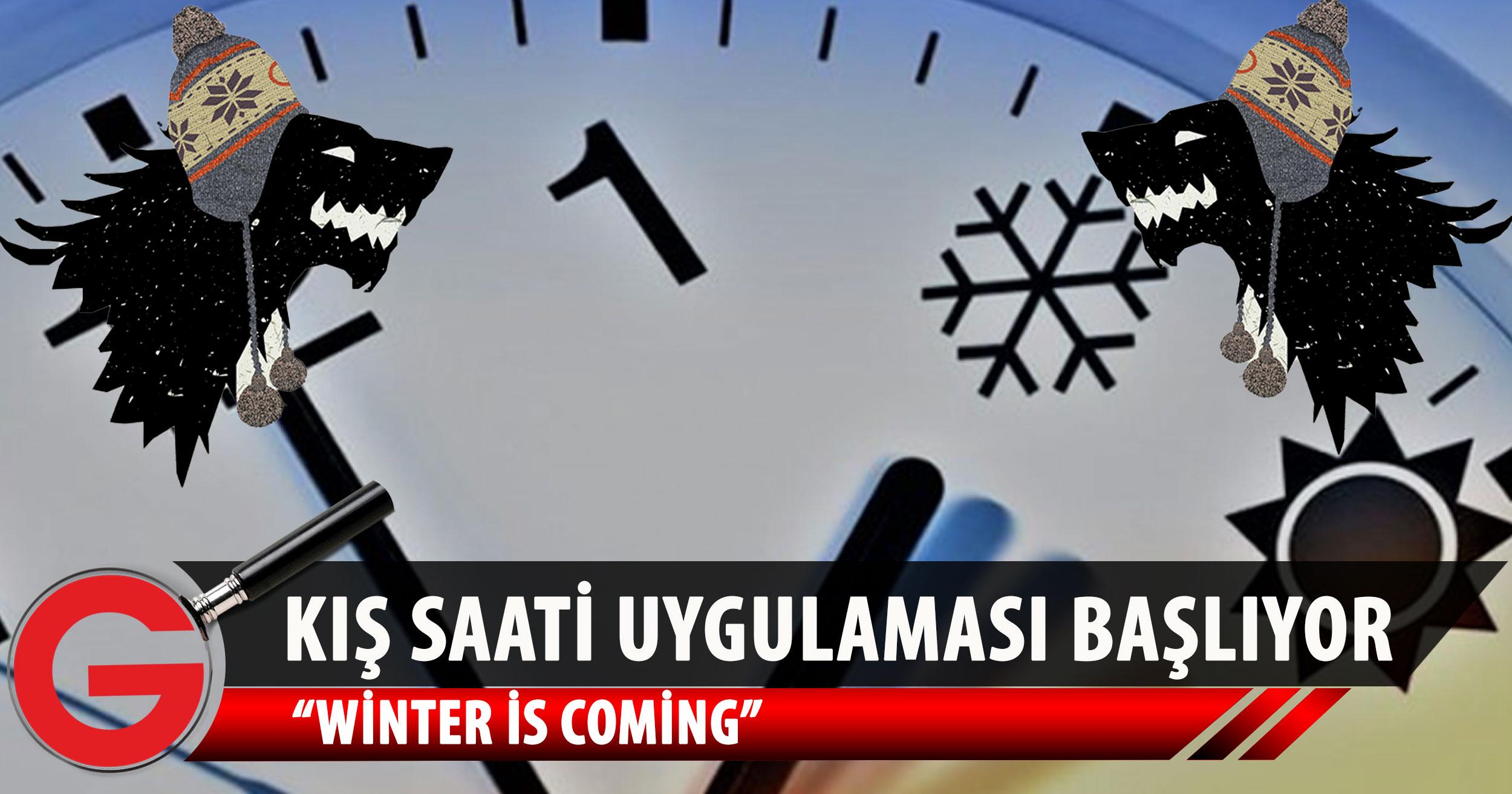 Kış saati uygulaması başlıyor!
