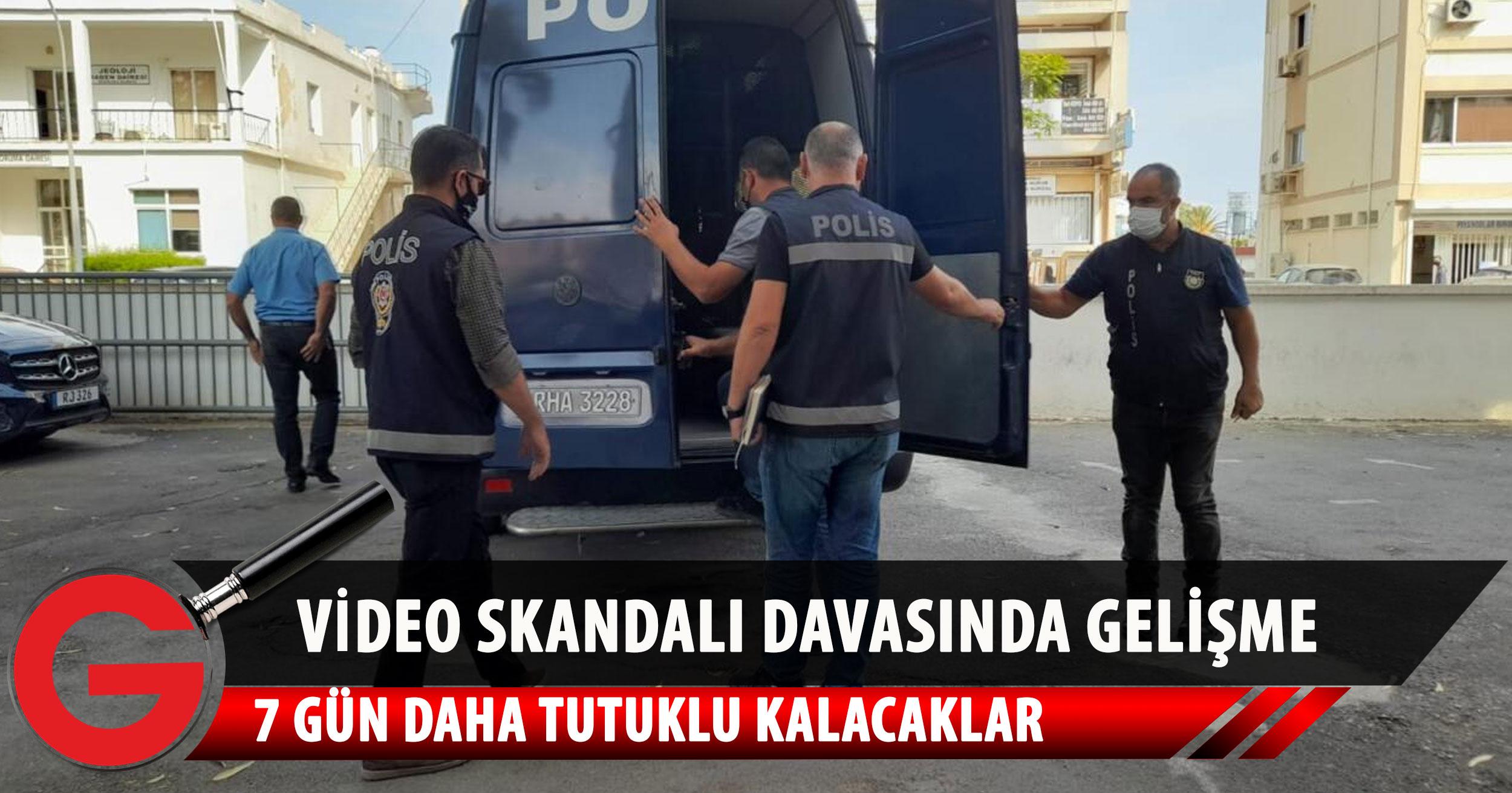 Skandal video davasında zanlılara ek tutukluluk